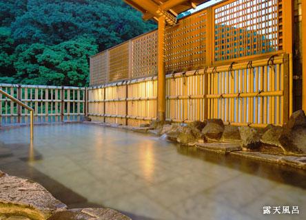 手すりが設置されている大浴場「桂の湯」