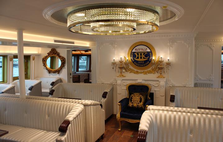 『ロワイヤルⅡ』の特別船室