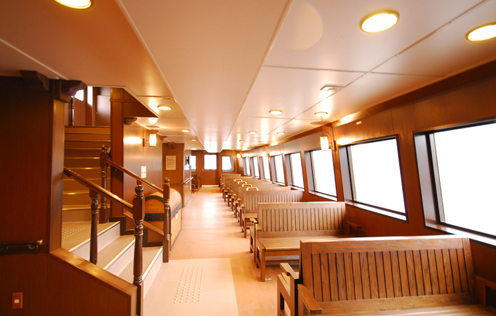 『ビクトリー』の普通船室