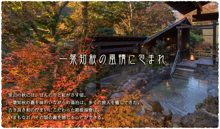 箱根湯本の古民家風里山温泉『箱根湯寮』は大きな日帰り温泉施設