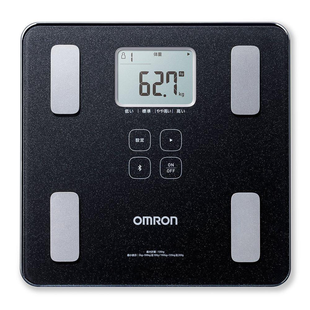 記録不要な『体重計』オムロンHBF-228(227)T カラダスキャン