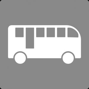 バスのりばがある